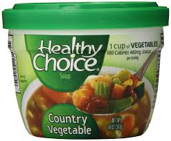amazon com healthy choice country vegetable soup 14 ounce pack