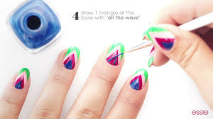 nails on point nail art tutorial by essie youtube