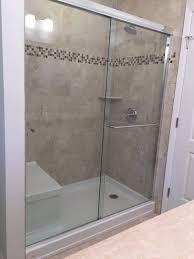 Seattle Shower Door Shower Uncategorized Sliding Glass Shower Doors Frameless