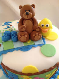fondant bear cake topper teddy bear topper birthday cake