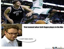 Seth Rogen Meme - seth rogen nba by pigretprobrems meme center