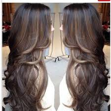 curly hair with lowlights caramel lowlights on brown hair brown hairs