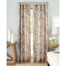 Panel Homes by Better Homes And Gardens Shadow Leaf Curtain Panel Walmart Com