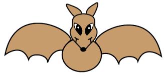 wanda draw halloween cartoon bat lesson