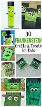 30 frankenstein crafts and treats for kids frankenstein craft