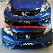 mobil honda terbaru 2015 7 pilihan warna mobil honda brio price list honda