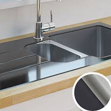 Kitchen Sinks Metal  Ceramic Kitchen Sinks DIY At BQ - Small sink kitchen
