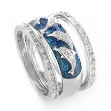 dolphin engagement ring dolphin wedding ring sets on our animal jewelry above and