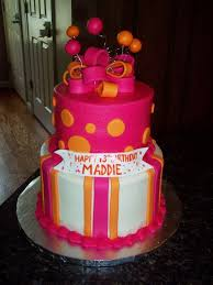 birthday cakes in orange color image inspiration of cake and