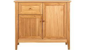 Oak Veneer Bedroom Furniture by George Home Ewan Oak And Oak Veneer Small Sideboard Home