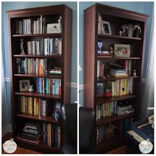 Bookshelf Organization Bookshelf Tour U0026 Organization Pretty Neat Living