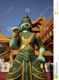 Statues Of Gods by Buddhas And Gods Statues In Myanmar Stock Photo Image 66203665