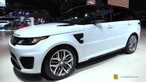 range rover 2015 2015 range rover sport svr exterior walkaround 2014 la auto
