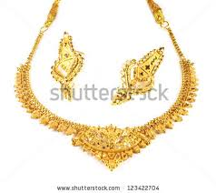 gold har set gold necklace stock images royalty free images vectors
