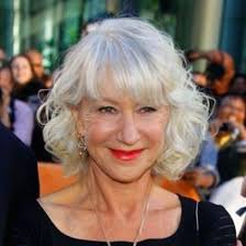 how to get gorgeous salt and pepper hair the ever gorgeous silver fox helen mirren with deep waves and