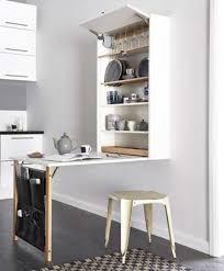 cuisine diy meuble cuisine avec table escamotable