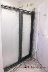 industrial glass door remodelaholic diy industrial factory window shower door
