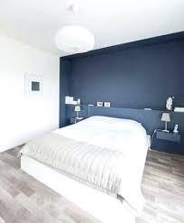 chambre deco bleu deco murale chambre peindre un mur en bleu foncac pour booster sa
