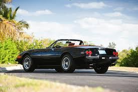 purple ferrari convertible 1972 ferrari 365 gtb 4 daytona spyder classic cars pinterest