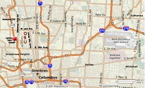 map of columbus naccl 20 columbus ohio conference on