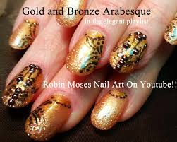 robin moses nail art fall nails leaves design autumn pictures cute