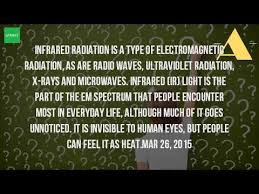 what is infrared light used for what is infrared waves used for youtube