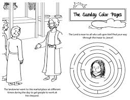 sunday ordinary time communion saints coloring page 590112