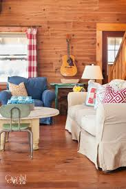 blue livingroom patriotic living room decor ideas creative cain cabin