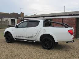 mitsubishi barbarian used 2015 mitsubishi l200 di d 4x4 barbarian black lb dcb for sale
