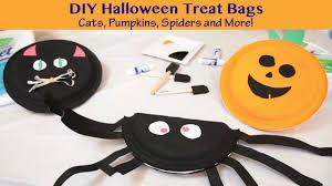 handmade halloween treat bags diy halloween treat bags youtube