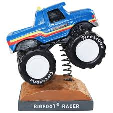 racer monster truck bobblehead