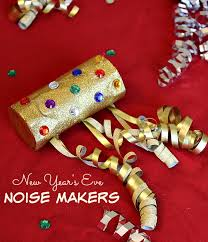 new years noise makers new year s noise maker craft for kids the adventures of j