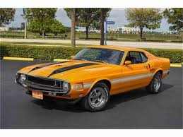 1970 shelby mustang 1970 shelby gt350 for sale on classiccars com 2 available