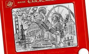 etch a sketch art news and new advertising campaign