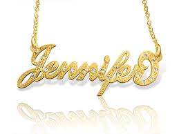 best name necklace 15 best carrie name necklace images on name necklace