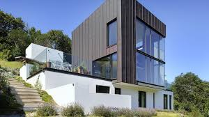 Modern Home Design Exterior 2013 Stan Bolt Architect The Green House Newton Ferrers Devon A