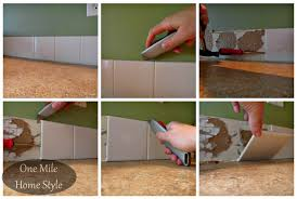 removing kitchen tile backsplash kitchen mini makeover tiling details
