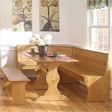 Breakfast Bench Nook Kitchen Glamorous Modern Kitchen Nook Set 2cym Light Solid Wood