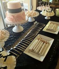 Bridal Shower Dessert Table Susan Crabtree Bridal Shower Dessert Table