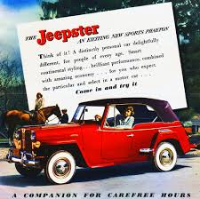 vintage jeep ad 1948 jeep willys jeepster ad classic cars today online