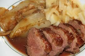 cuisiner panais recette recette magret de canard sauce orange au panais recette magret de