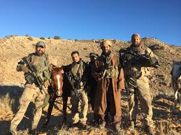 cia special forces in horse soldiers movie with chris hemsworth