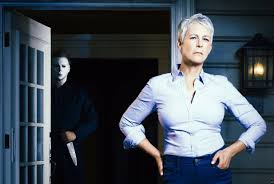 jamie lee curtis playing laurie strode in blumhouse u0027s u0027halloween