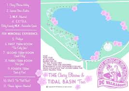 Blossom Music Center Map Cherry Blossom Tours Tidal Basin Memorials Dc Walkabout