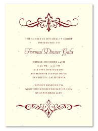 formal luncheon invitation wording party invitations scrolls plantable