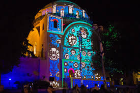 the lights fest ta 2017 i24news old city of jerusalem illuminates for annual light festival