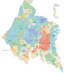 Map Of Loudoun County Va Delinquent Mortgages In Washington Area The Washington Post