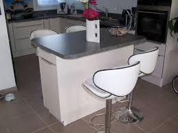 ilot repas cuisine agréable cuisine avec ilot central table 1 suivant la