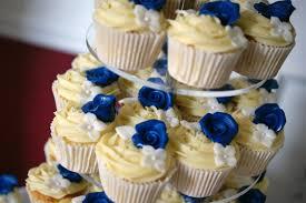 wedding cake royal blue royal blue flower st 3 tier wedding cake 3 bakealous
