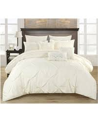home design comforter shopping special valentina pinch pleated ruffled